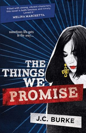 <i>The Things We Promise</i> by J.C. Burke.