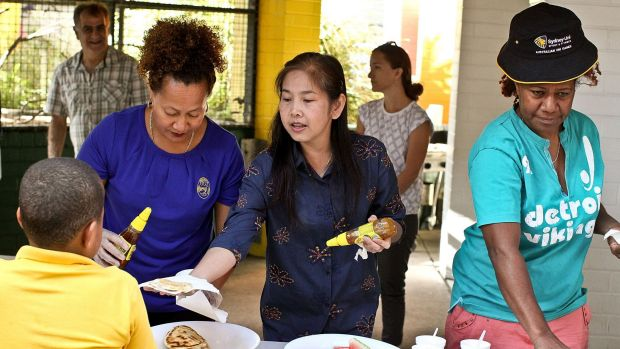 The program is run in consultation with parents, who also volunteer to serve the breakfasts.