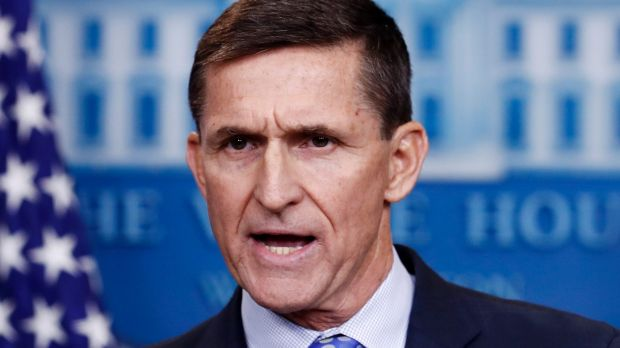 Michael Flynn has been under pressure over his contact with Russia.
