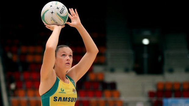 Green and gold Giant: Susan Pettitt will go up against her former club side on Saturday.