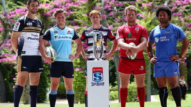 Diminishing number: Australia will only have four Super Rugby teams in the new format.