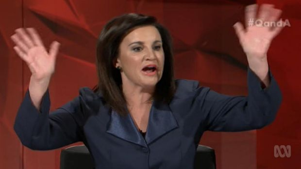Jacqui Lambie on Q&A.