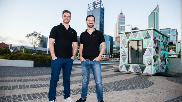 Ronan Bray and Daniel Rainone, founders of Popupshopup, have built a business taking advantage of unused space.