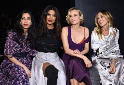 Priyanka Chopra, Diane Kruger, and Sarah Jessica Parker were among the celebrities that came out to support Prabal ...