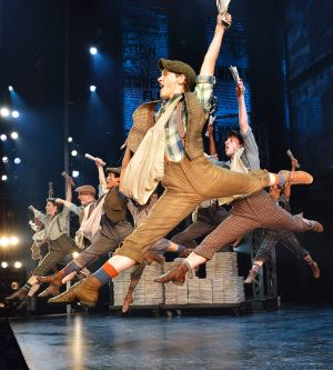<i>Newsies</i> proved a big hit on Broadway, clocking up more than 1000 performances.
