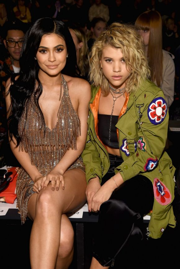 Kylie Jenner has gone from strength to strength with her fashion choices at NYFW, especially with this sparkly two-piece ...