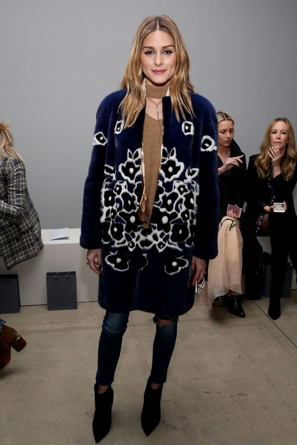 We are going to take a page out of Olivia Palermo's winter style. Over-sized outerwear and bold hues have been a staple ...
