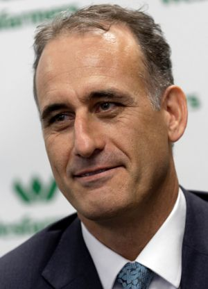 Wesfarmers chief executive-elect Rob Scott.