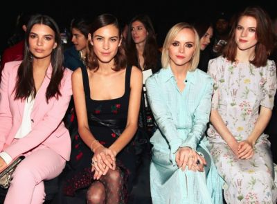 Girl gangs are the perfect frow accessory, with Emily Ratajkowski, Alexa Chung, Christina Ricci and Rose Leslie rocking ...