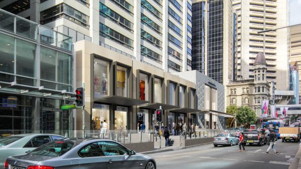 The new King and Pitt Street store will be Tiffany's 10th location in Australia and fourth in Sydney.