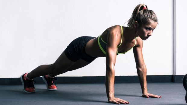 Push-upsare a stretch contraction exercise.