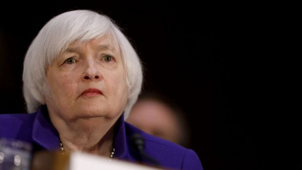 Fed chair Janet Yellen is uncertain about what lies ahead under the Trump administration.