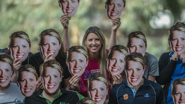 Spot the real Carly Wilson ahead of her final game in Canberra for the Capitals. They're turning the game pink for her ...