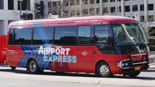 Canberra Airport is currently serviced by a privately operated express shuttle.