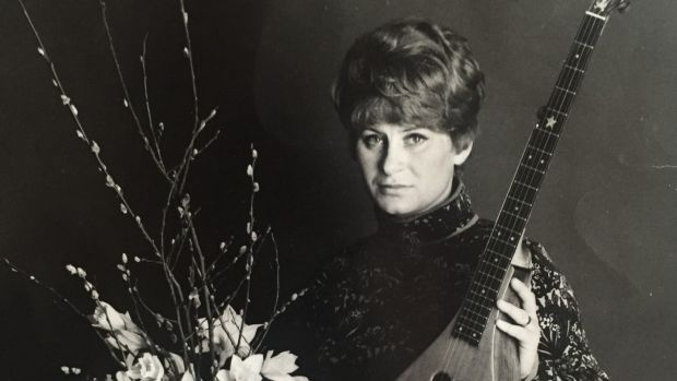 Shirley Collins in the 1960s, before heartbreak ended her singing career.