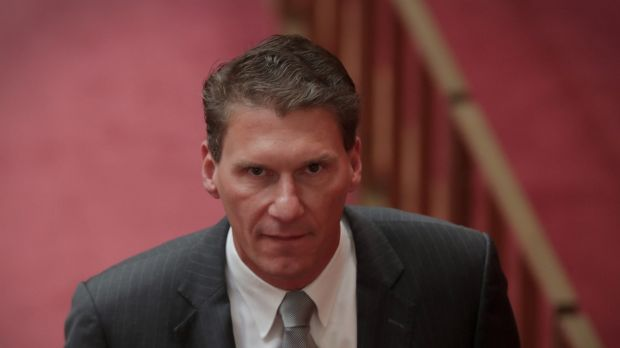 Cory Bernardi told the libertarian event that some of his former Liberal colleagues are blocked from speaking out.