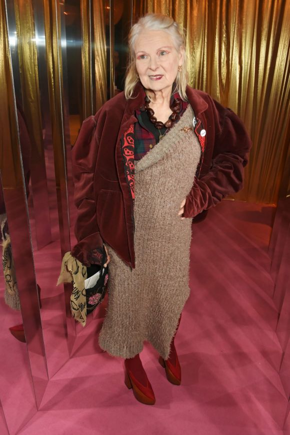 Vivienne Westwood attends the Elle Style Awards 2017 on February 13, 2017 in London, England.