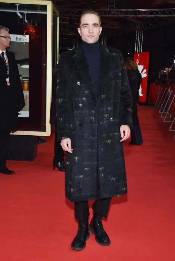 Robert Pattinson attends the 'The Lost City of Z' premiere during the 67th Berlinale International Film Festival Berlin ...
