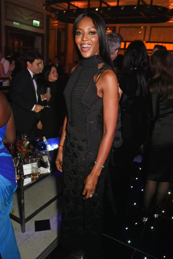 Naomi Campbell attends The Weinstein Company, Entertainment Film Distributors, Studiocanal 2017 BAFTA After Party in ...