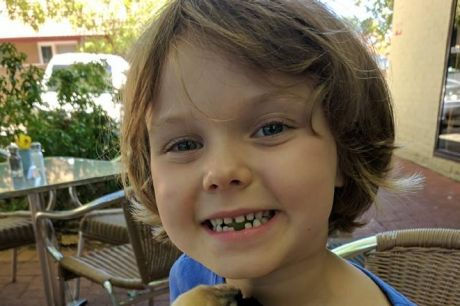 Brave Canberra girl  Freyja Christiansen has been receiving treatment for a rare and aggressive cancer in a Sydney ...
