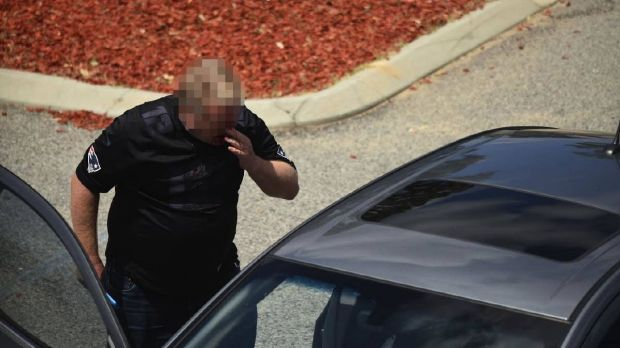 A man is in custody following the road rage attack in Mandurah on Wednesday.