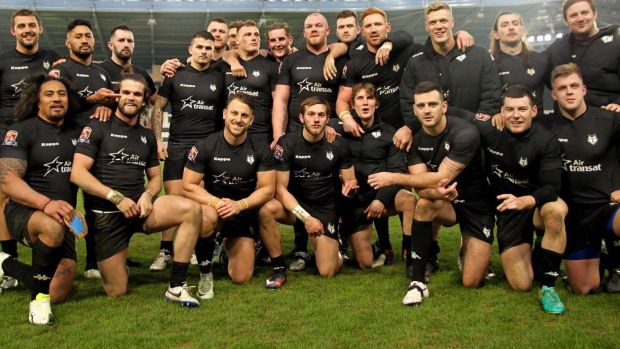 Making history: The RFL have taken the bold decision to include a team from Canada in the third tier this year.