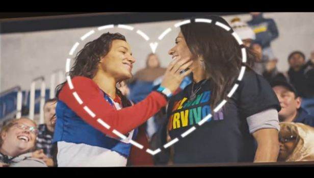 """""""Fans of Love"""": The ad agency with whom the NFL partnered described it as """"apolitical."""""""