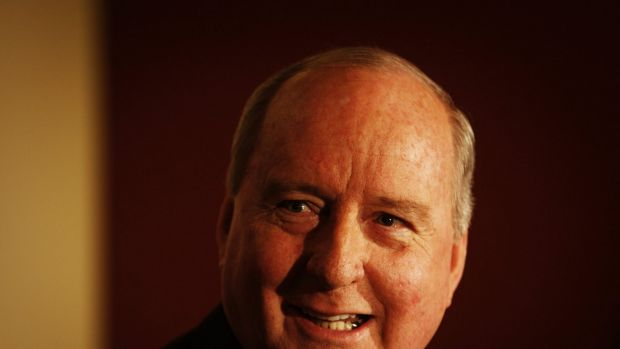 Alan Jones has pulled out of a speaking engagement at Throughbred Park as he recovers from back surgery.