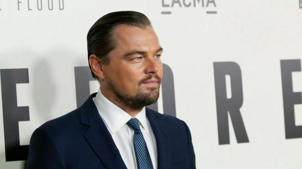 Leonardo DiCaprio rocking the perfect brow at the Screening of National Geographic Channel's 'Before The Flood'