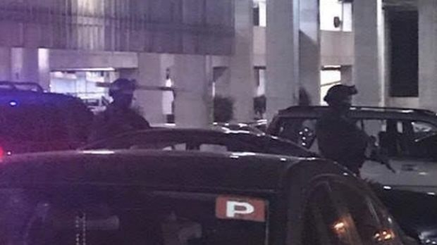 Special Operations Group arrested a man at Highpoint Shopping Centre last night.