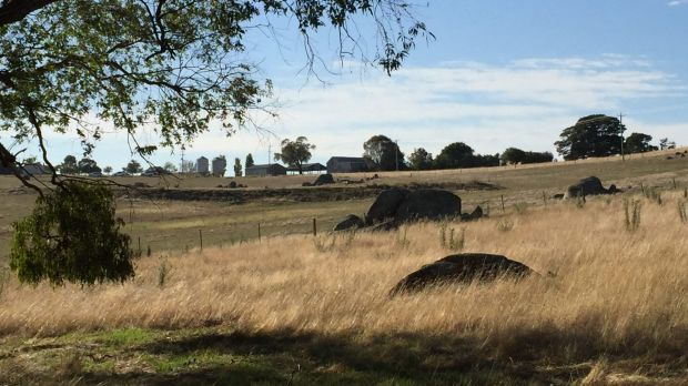 The property in Oolong, near Yass, where three people died in a water tank.