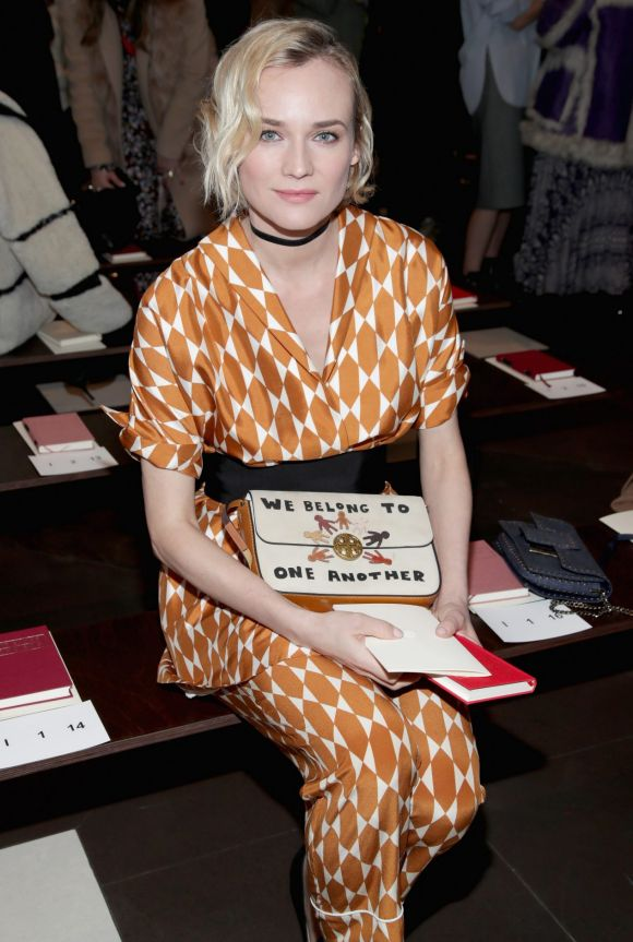 Have you ever dreamed of wearing pyjamas in public? Take notes from actress Diane Kruger who wore silky co-ords with a ...