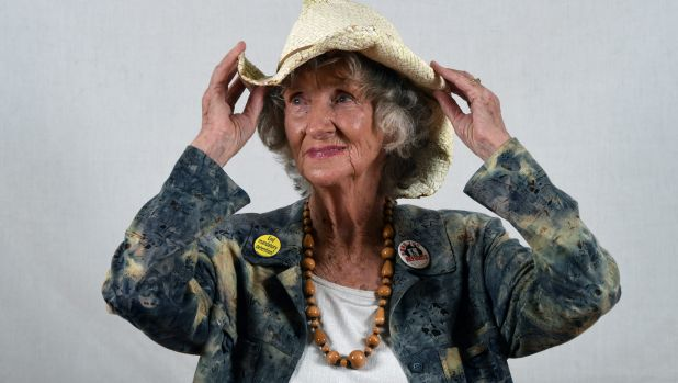 Kath Morton, Ballarat Citizen of the Year and Rebel Elder.