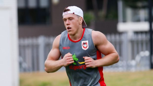 Talking tough: Dragons recruit Cameron McInnes.