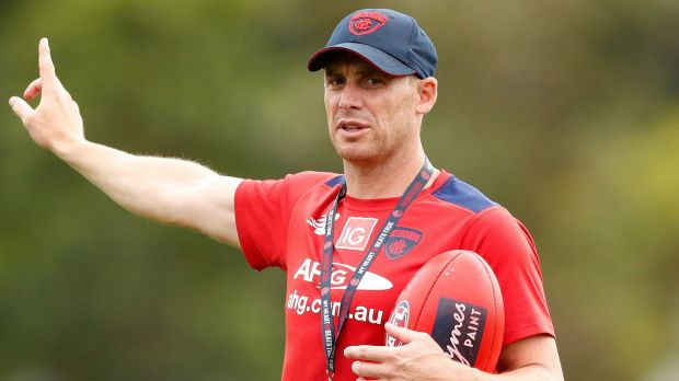 "Head coach Simon Goodwin is aiming to establish a ""consistent brand"" at the Demons."