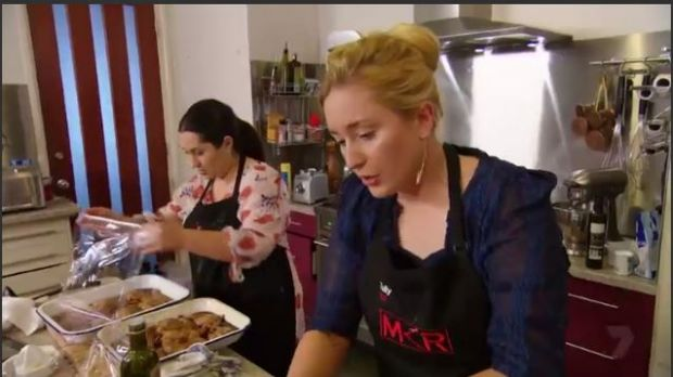 My Kitchen Rules  Della And Tully Instant Restaurant Score
