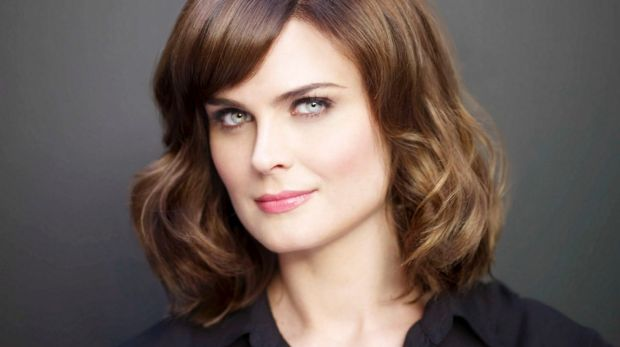 Bones, series 7. Dr Temperence Brennan played by Emily Deschanel.