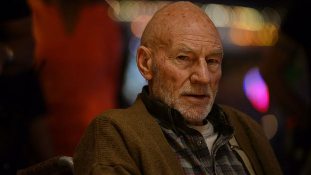 'Charles Xavier is a very, very dangerous individual' (even if he needs medicating) says Patrick Stewart.