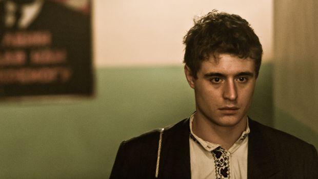 Max Irons as Yuri in Bitter Harvest.