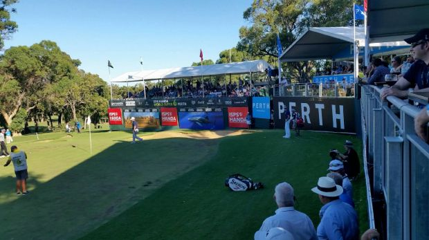 Fun for fans will increase at next year's unique World Super 6 golf event, with a $1m hole-in-one contest mooted.