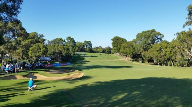 There's plans for a live DJ on the 18th hole at Lake Karrinyup next year.