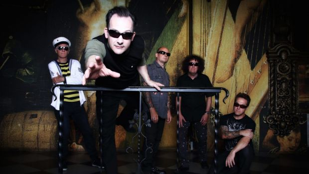 The Damned: Dave Vanian, second from left, says his biggest musical influences were films and their scores.