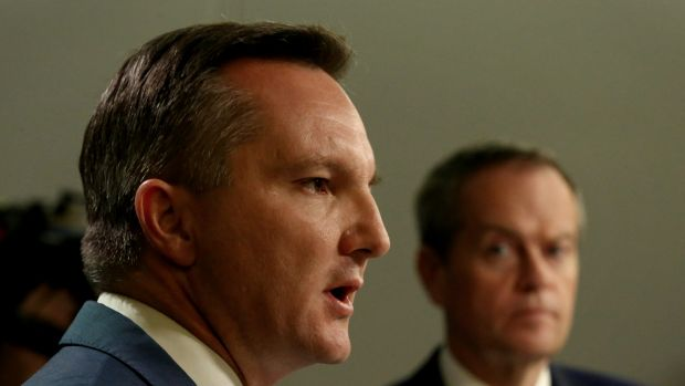 Labor's treasury spokesman Chris Bowen and leader Bill Shorten have announced a potentially controversial economic policy.