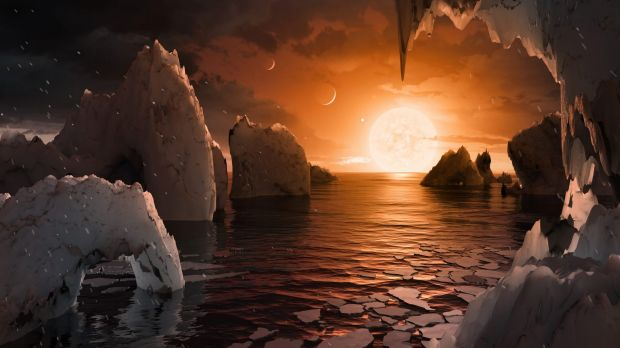 Scientists can't actually see any of these planets (pretty pictures like this are an artist's renditions).