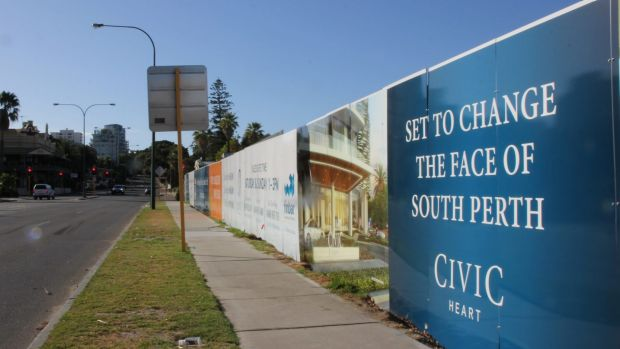 Or is it South Perth set to change the face of Civic Heart?