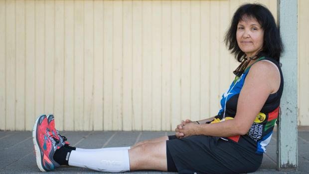 52 year old Canberra Deadly Runners member Lynn Leon is attempting her first marathon in April after less than a year of ...
