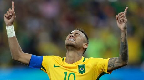Cleared of criminal charges:  Neymar.