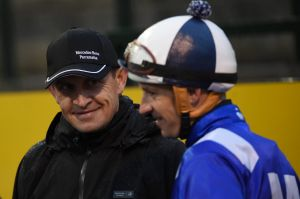 Seventh heaven: Chris Waller will collect another Sydney trainers' premiership.