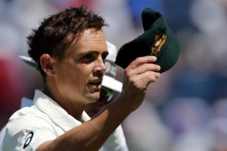 On the outer: Spinner Steve O'Keefe has been left out of the tour to Bangladesh.