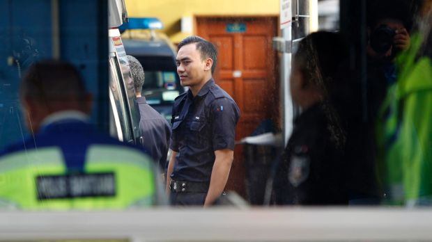 Investigations into the murder continue in the forensics department at Kuala Lumpur Hospital.